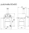 Four à pizza CLEMENTI Pulcinella