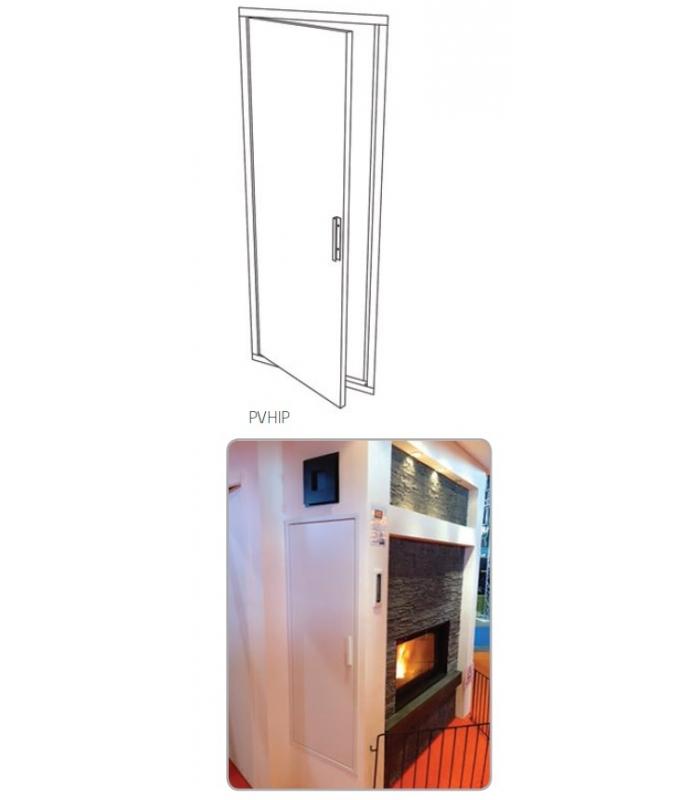 Grille d 39 air chemin e porte de visite pour hotte for Porte vitree pour cheminee