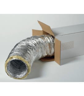 Conduit flexible aluminium isolé