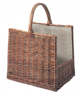 Panier en osier rectangle