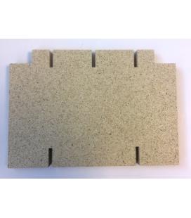 Déflecteur vermiculite
