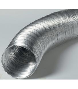 Conduit flexible d'arrivée d'air aluminium